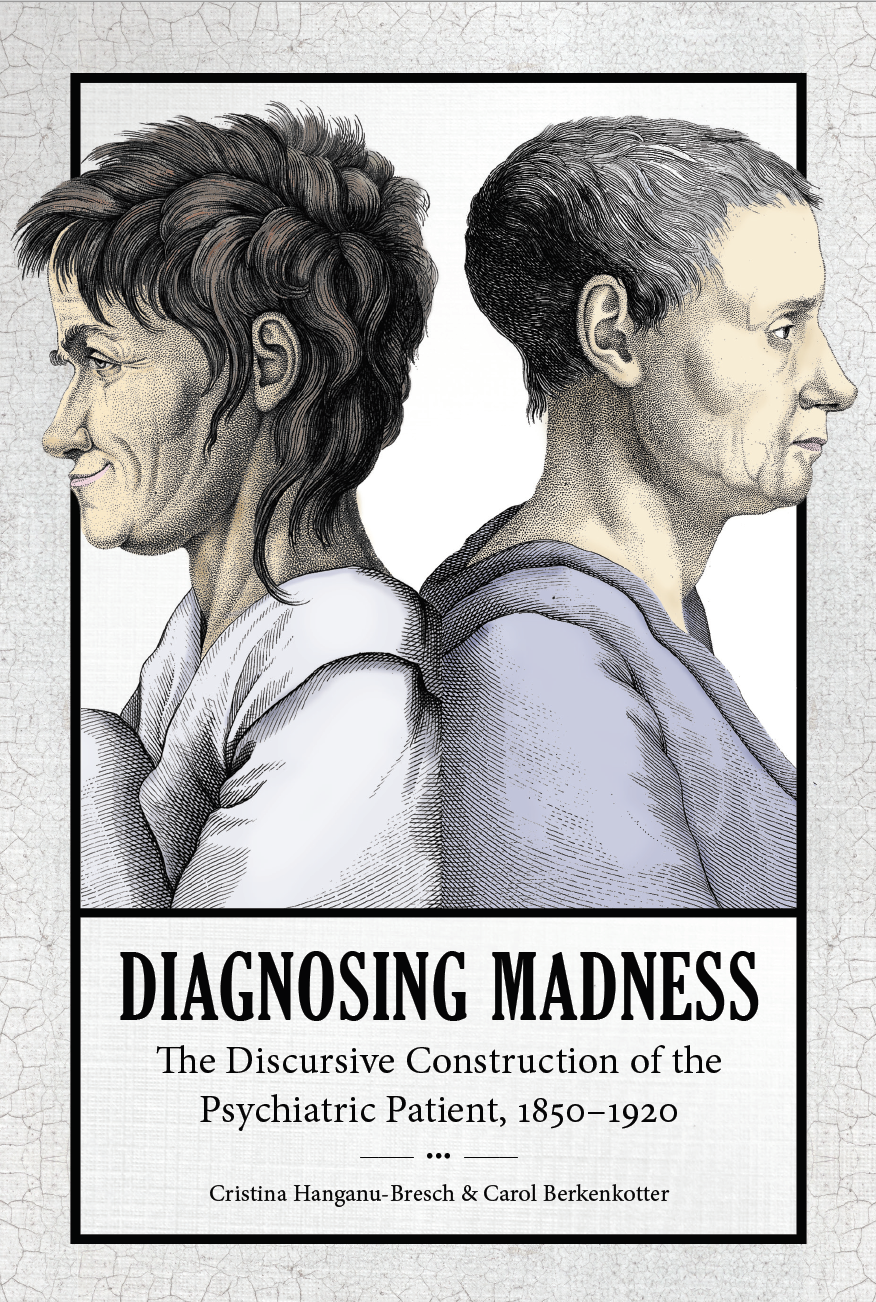 Diagnosing Madness, a study of the textual ecology of asylums and their patients. University of South Carolina Press, 2019. With Carol Berkenkotter.